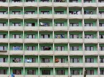 Block der Wohnungen Lizenzfreies Stockfoto