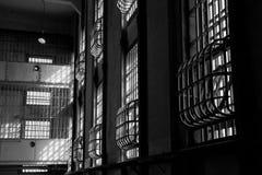 Block des Alcatraz Gefängnisses D Lizenzfreie Stockbilder