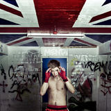Block des Boxers Stockbilder