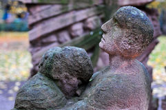 Block des Frauen-Denkmals - Berlin, Deutschland Lizenzfreies Stockbild