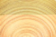 Block des gelben Mosaiks Stockfotos