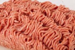 Block des Handelsrindfleisches zerkleinern von einem Speicher Lizenzfreies Stockbild