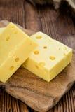 Block des Käses Stockbilder