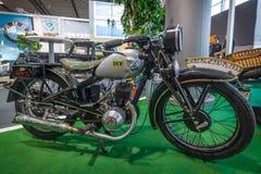 Block 200, 1933 des Motorrad-DKW Stockfotografie