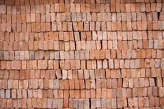 Block des roten Lehms Stockbild