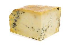Block des Stilton Käses Stockfotos