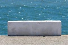 Block des weißen Steins Stockfotos