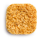 Block of dried chinese noodles Stock Image