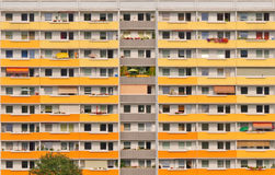 Block in east germany Stock Photos