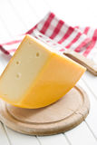 Block of edam cheese Royalty Free Stock Photography