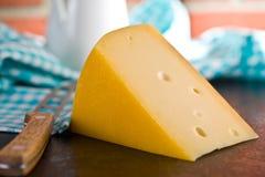 Block of edam cheese Royalty Free Stock Image