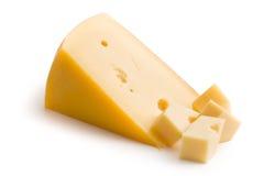 Block of edam cheese Stock Photo