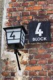 Block 4, eine der Gefängniszellen am Auschwitz-Konzentrationslager Lizenzfreie Stockfotos