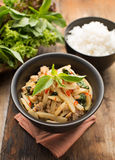 Block eller Mai (thailändsk mat) royaltyfria bilder