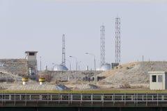 Block för lansering för Energia-Buran avståndssystem Royaltyfria Foton