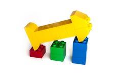 Block-Finanzdiagramm Stockfotografie
