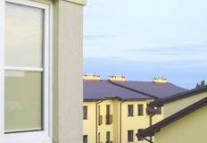 Block of flat. In Poland Stock Image