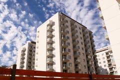 Block of flats stock photo