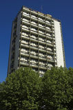 Block of flats. In London suburb, England Stock Photos