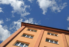 Block of flats - apartment building royalty free stock photo