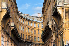 Block of Flats in Budapest Stock Image