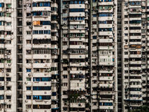 Block of flats. In chinese city of Chongqing Royalty Free Stock Photos