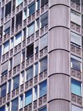 Block of flats detail Royalty Free Stock Photography