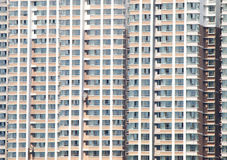 Block of flats details Royalty Free Stock Photo
