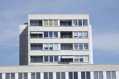 Block of Flats, House. Block of Flats, modrn House royalty free stock photography