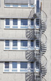 Block of Flats, House. Block of Flats, modrn House with staircase royalty free stock photography