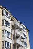 Block of flats. In Kiel, Germany royalty free stock photos