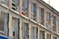 Block of flats renovation Stock Photos