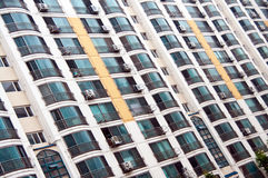 Block of flats in South Korea Stock Photo