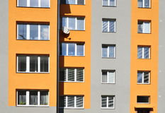 Block of flats, urban building Royalty Free Stock Photos