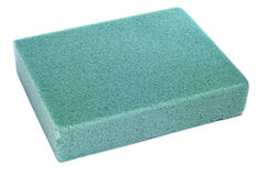 Block of floral foam Royalty Free Stock Photography