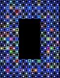 Block frame 2 Stock Image