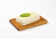 Block of fresh tofu Stock Photo