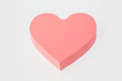 Heart-shaped Notes Royalty Free Stock Photo