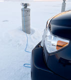 Block heater Royalty Free Stock Images