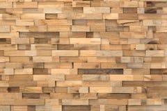 Block-Holz-Veränderungs-Wand-Beschaffenheits-Hintergrund Lizenzfreie Stockfotos