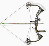 Block the hunting bow Royalty Free Stock Images