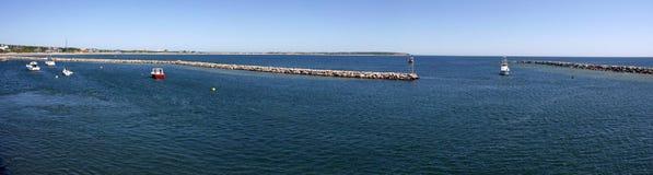 Block-Insel-Hafen Lizenzfreie Stockfotografie
