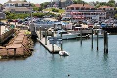 Block-Insel-Hafen, Rhode Island Stockfotos