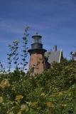 Block-Insel-Südostleuchtturm Stockbild