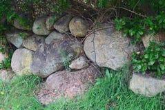 Block-Inselfelsenwand 1 Lizenzfreies Stockfoto