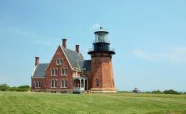 Block Island Lighthouse. Southeast Lighthouse, Block Island, Rhode Island Royalty Free Stock Photos
