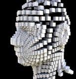 Block-Kopf stockbild
