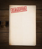 Block of old papers. Royalty Free Stock Photo
