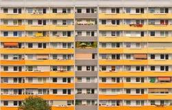 Block in Ostdeutschland Stockfotos