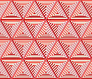 Block pattern from striped triangles Royalty Free Stock Images